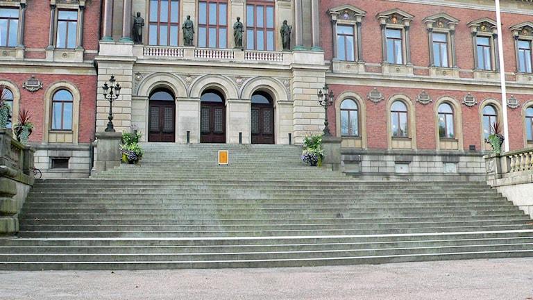 Universitetshuset Uppsala. Foto: Erik Thyselius/Sveriges Radio