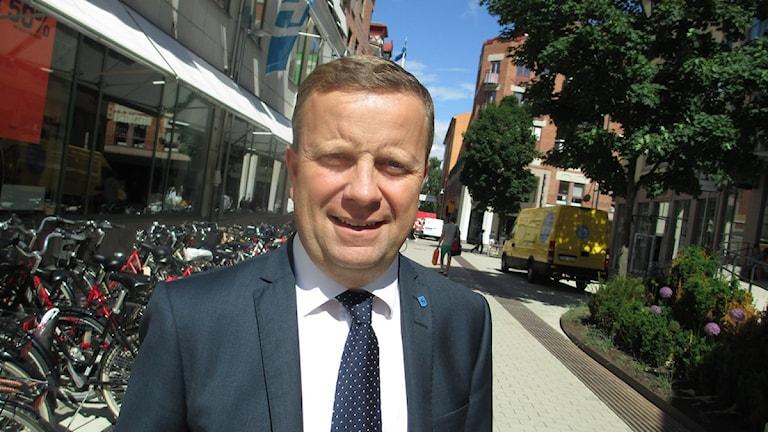 Fredrik Ahlstedt, tidigare kommunstyrelsens ordförande i Uppsala.