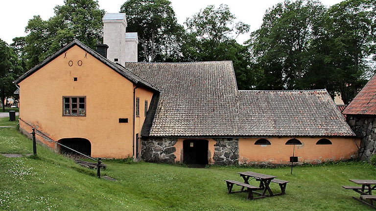 Den gamla smedjan i Österbybruk Foto:Thomas Artäng/SR