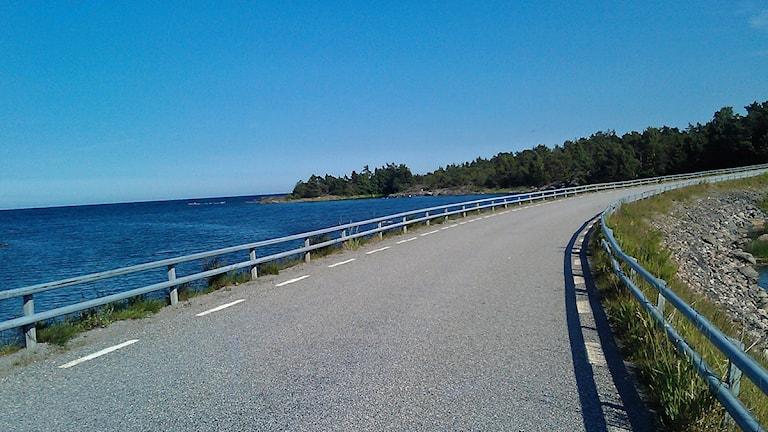 Skärgårdsmiljö vid Singö. Foto: August Bergkvist / SR