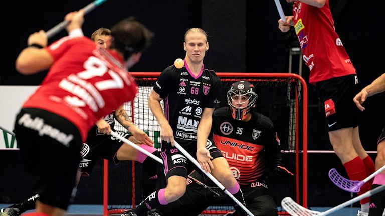 Storvreta var nära att hämta upp ett stort underläge mot Falun i matchen mot Falun.