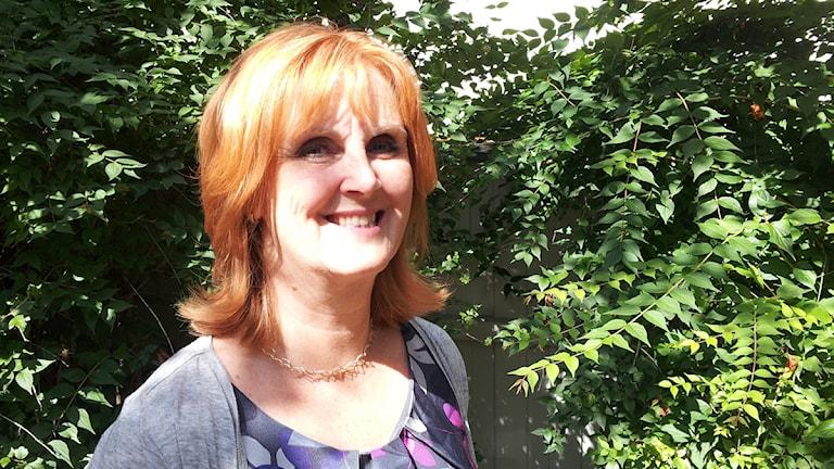 Eva Ljung föreslås bli ny landstingsdirektör i Uppsala län. Foto: Astrid Iselidh/SR