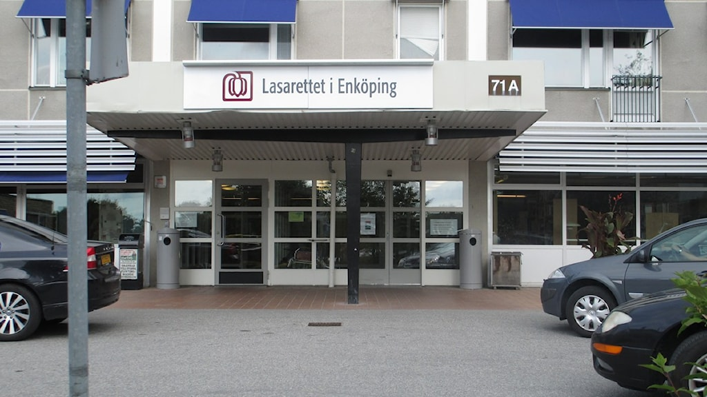 Lasarettet i Enköping. Foto: Martin Hult / Sveriges Radio