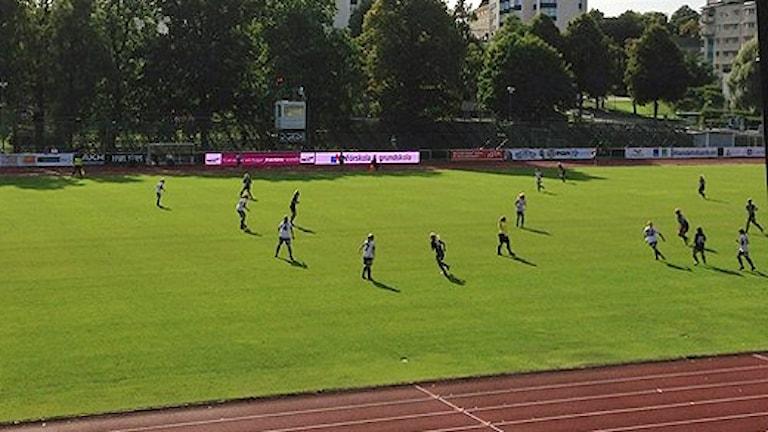 Sirius damfotboll... Foto: Jakob Andersson/SR