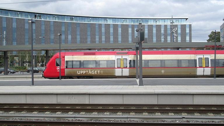 Upptåget på Uppsala Centralstation. Foto: Martin Hult / Sveriges Radio