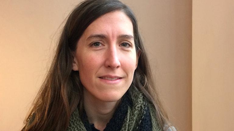 Agnes Hellström från Gimo är ny ordförande för Svenska freds- och skiljedomsföreningen.