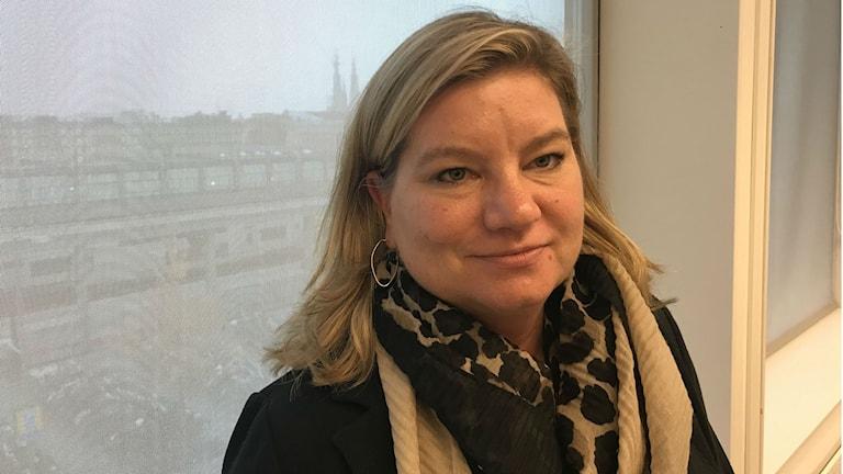 Katja Friberg, avdelningschef för barn och unga myndighet i Uppsala kommun