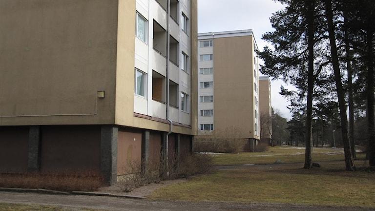 Bostadshus i Eriksberg.