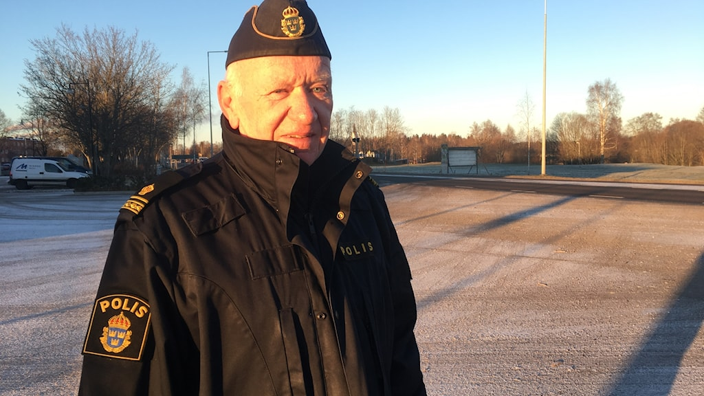Kjell-Åke Ederyd, kommunpolis Älvkarleby.
