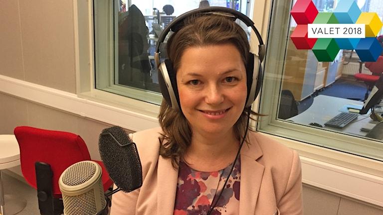 Marta Obminska är förstanamn i riksdagsvalet för Moderaterna i Uppsala län.