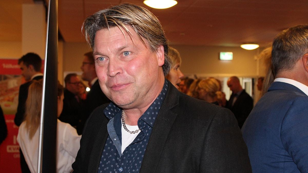 Micke Teurnberg, tränare Rospiggarna.
