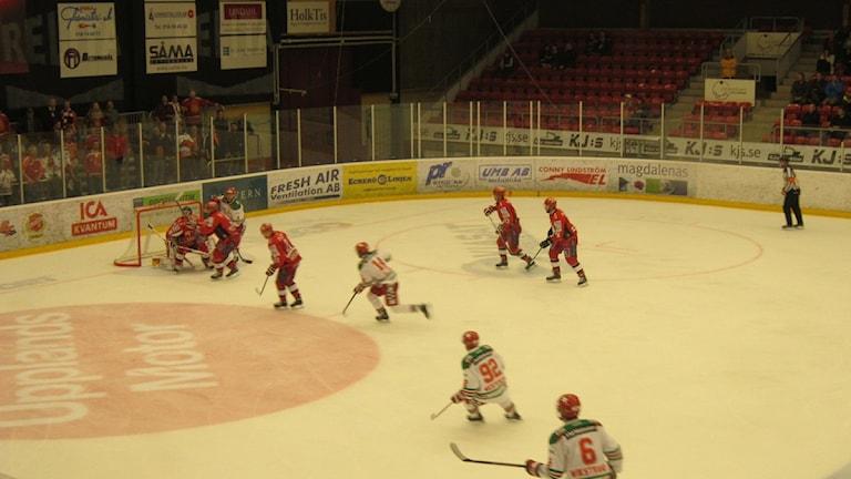 En tidigare match mellan Almtuna och Mora. Foto Perra JohanssonSR