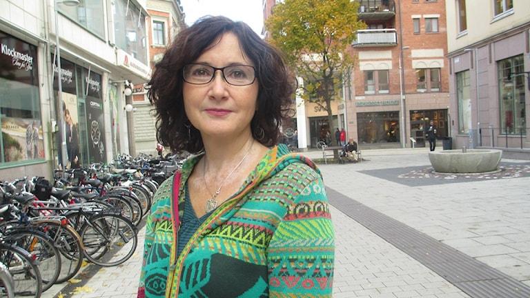 Ilona Szatmári Waldau är kommunalråd för Vänsterpartiet i Uppsala