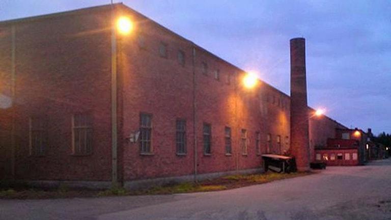 Scana Steel i Söderfors. Foto: August Bergkvist/SR