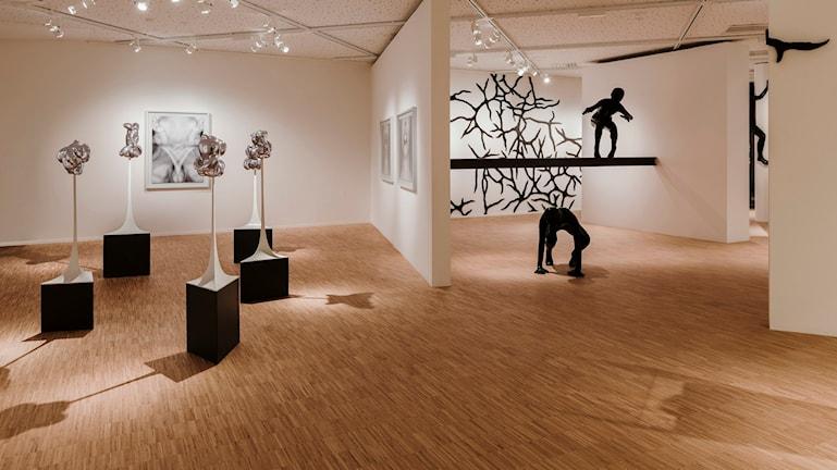 Den nya konsthallen i Märsta. Foto: August Bergkvist / Sveriges Radio