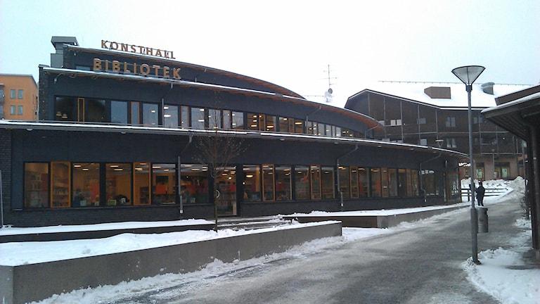 Märstas kulturcentrum ska lyfta ett lite nedgånget centrum är förhoppningen. Foto: August Bergkvist / Sveriges Radio