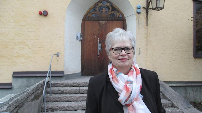 Margareta Svensson Parras. Foto: Joanna Korbutiak/Sveriges Radio.