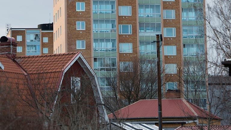 I Enköping förväntas bostadsbristen minska till 2019. Foto: Fredrik Sandberg/TT