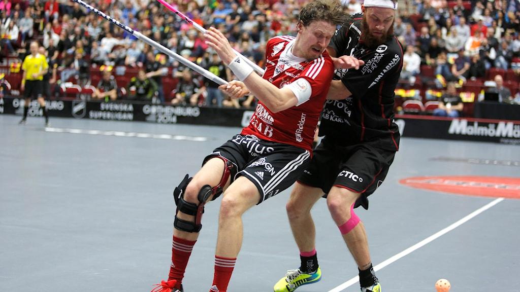 Storvretas Mika Kohonen gjorde mål i förlustmatchen mot Dalen.  Foto: Stig-Åke Jönsson/TT