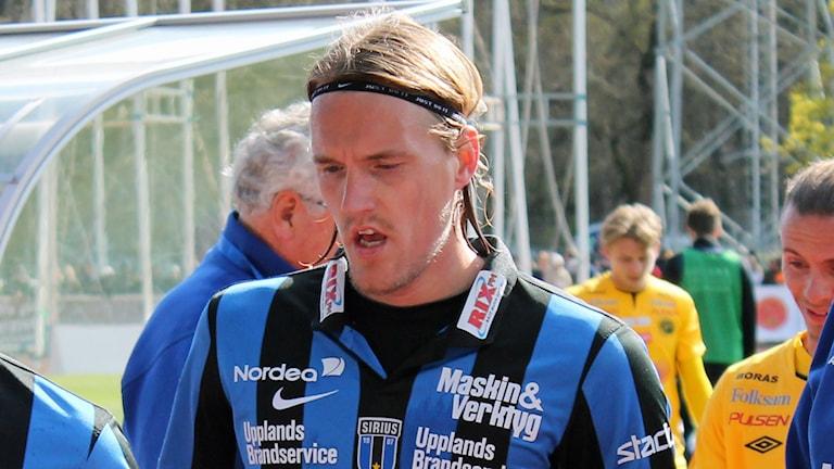 Kim Skoglund i Sirius. Foto: Erik Thyselius/Sveriges Radio