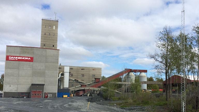 Dannemoragruvan (arkivbild). Foto: Sanna Richter/Sveriges Radio.