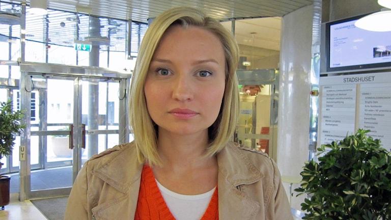 Ebba Busch Thor (KD). Foto: Sanna Richter/Sveriges Radio