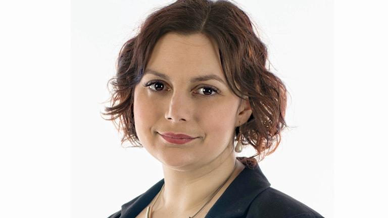 Paula Bieler, Sverigedemokraternas förstanamn i Uppsala län 2014.