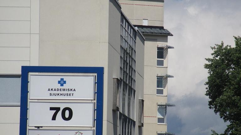 Akademiska sjukhuset.