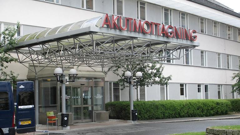 Akutmottagningen vid Akademiska sjukhuset.