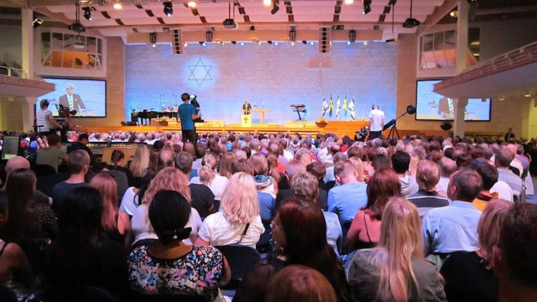 Livets ords Europakonferens i Uppsala (arkivbild). Foto: Sara Moein/SR