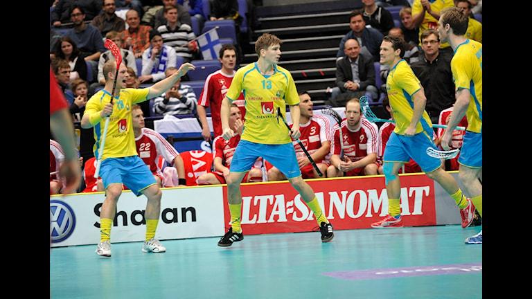 Storvretas Mattias Samuelsson har spelat i landslaget tidigare. Nu är det alltså dags igen (arkivbild). Foto: TT
