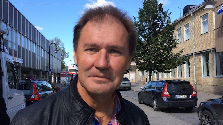 Bengt-Olov Eriksson (S) i Tierp. Foto: Sofia Söderholm/Sveriges Radio.