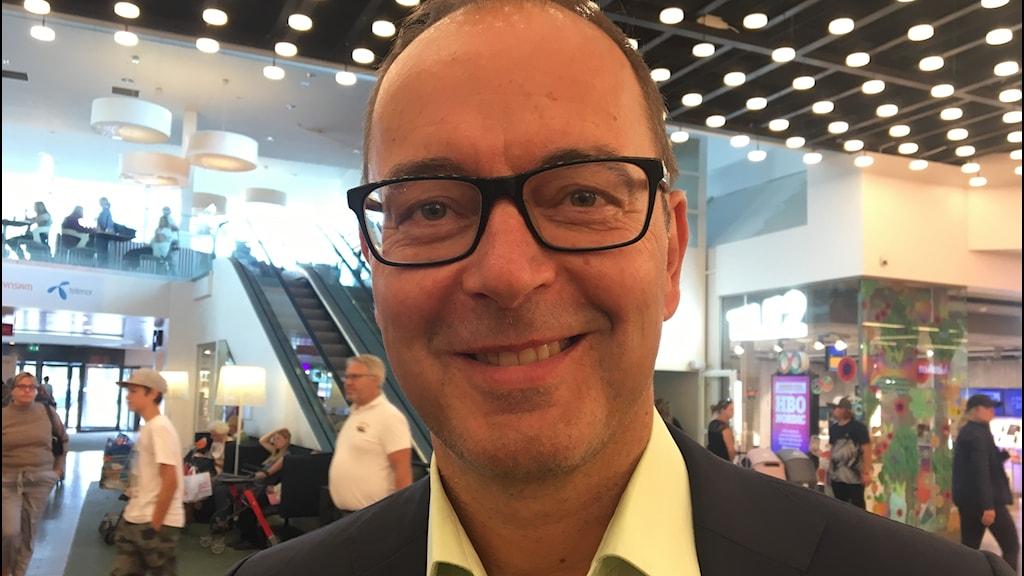 Centerpartiets Stefan Hanna.