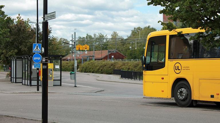 UL-buss. Foto: Erik Thyselius/Sveriges Radio