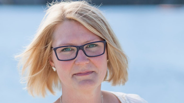 Centerpartiets Sara Sjödal från Tierp.