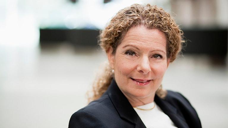 Cilla Benkö, vd för Sveriges Radio. Foto: Björn Dalin