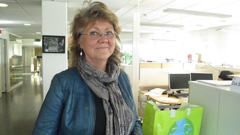 Eva Köpman, chef för Råd och stöd. Foto: Martin Hult/Sveriges Radio