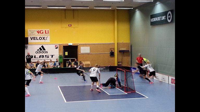 FBC Uppsala fick jobba sig ikapp från underläge två gånger i den tredje perioden. Foto Perra JohanssonSR