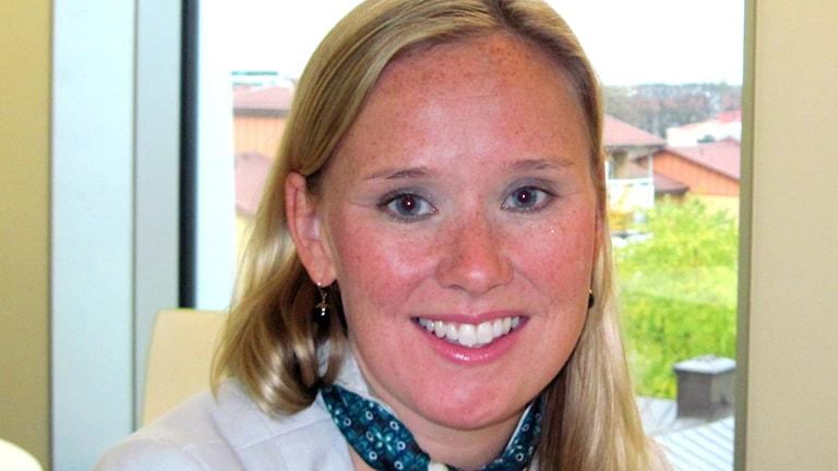 Caroline Andersson (S), kommunalråd i Uppsala. Foto: Mårten Nilsson/Sveriges Radio