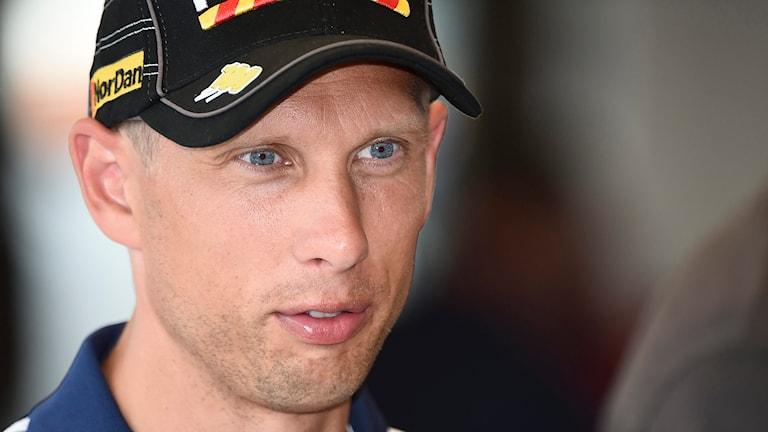 Speedwayföraren Andreas Jonsson. Foto: Mikael Fritzon/TT