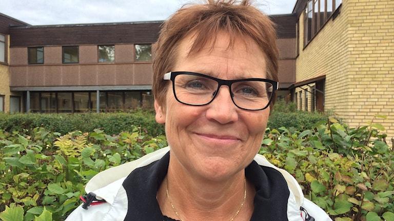 Margareta Widén Berggren, Socialdemokrat i Östhammar. Foto: Elin Roumeliotou/Sveriges Radio
