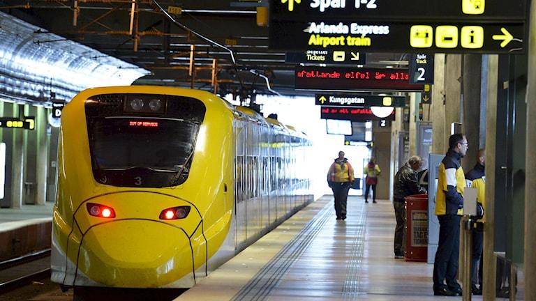 Arlanda Express. Foto: TT