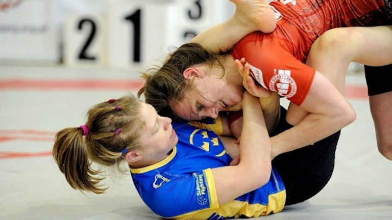 Sophia Nordenö. Foto: grapplingbloggen.se