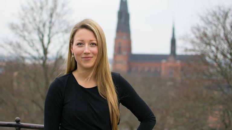 Vanja Eriksson som har utsetts till Årets Uppsalastudent.