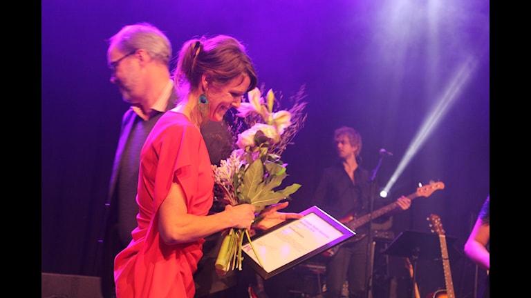 Annika Billstam får P4 Upplands sportpris