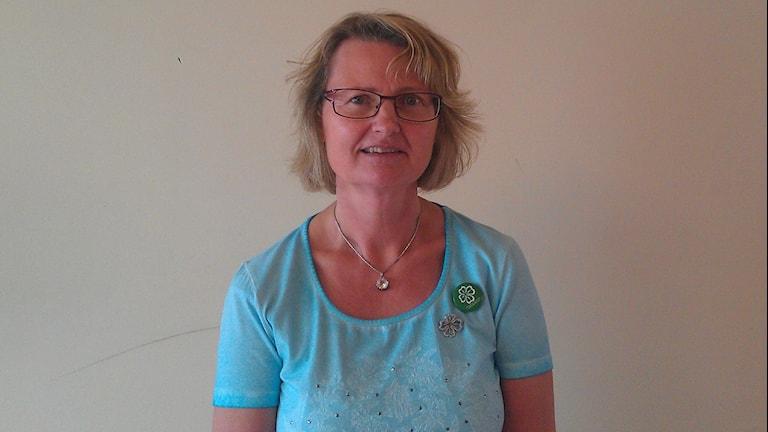 Marie Wilén (C). Foto: Sveriges Radio.