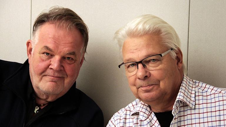 Christer Eklund & Hasse Burvall  Foto:Thomas Artäng/Sveriges Radio