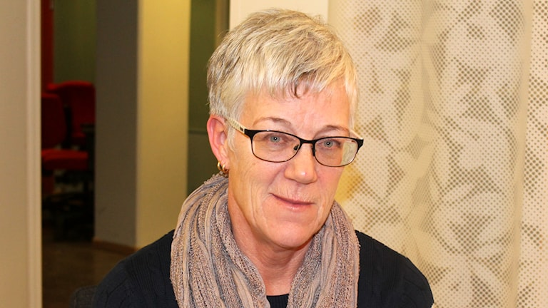 Eva Eklöf, Uppsalapolisen. Foto: Kina Pohjanen/Sveriges Radio