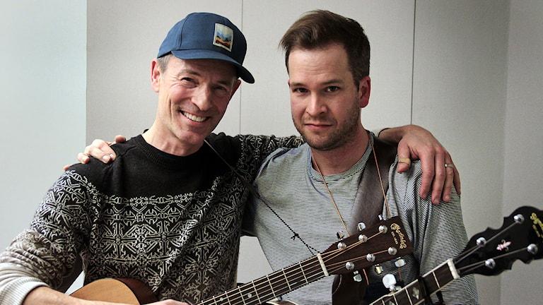 Tom Levin & Rickard Carlsson Foto:Thomas Artäng/Sveriges Radio