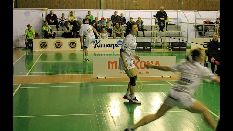 Fyrisfjädern vinner lätt över Team Väst. Foto: Karima Edell/Sveriges Radio